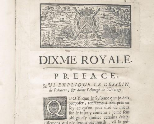 La Dime Royale de Vauban