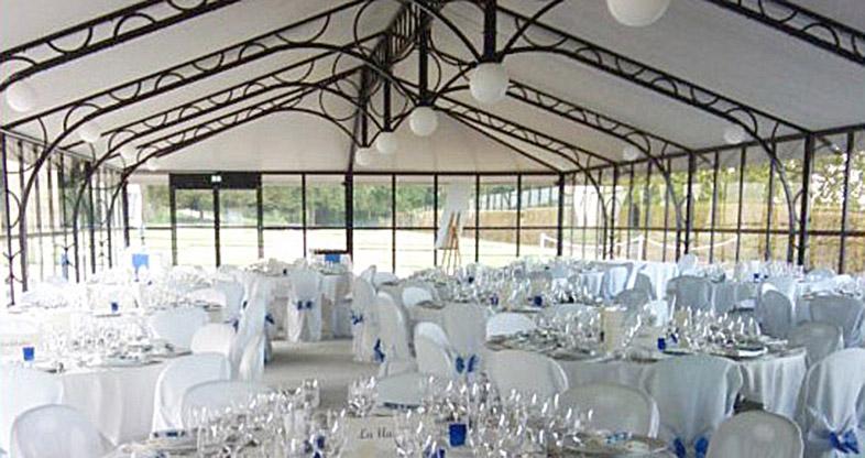 La serre pour vos réceptions de mariage